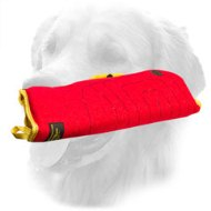 Ambidextrous French Linen Golden Retriever Bite Sleeve