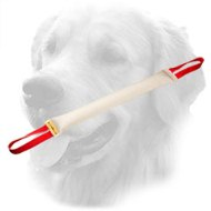 Fire Hose Golden Retriever Bite Tug with Two Handles