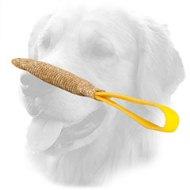 Jute Golden Retriever Bite Tug with Handle