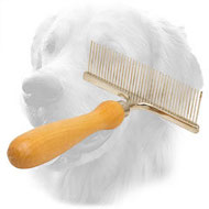 """Personal Groomer"" Metal Golden Retriever Brush for Daily Grooming"