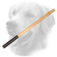 Bamboo Golden Retriever Training Stick