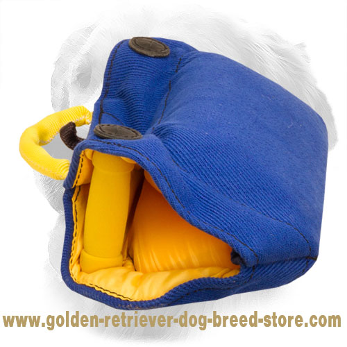 Golden Retriever Bite Builder with Hard Handles Convenient to Hold