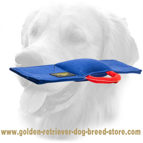 Double Stitched Golden Retriever Bite Pad