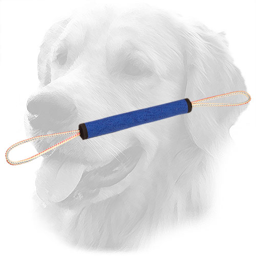 Extra Durable Golden Retriever Bite Roll with Two Handles