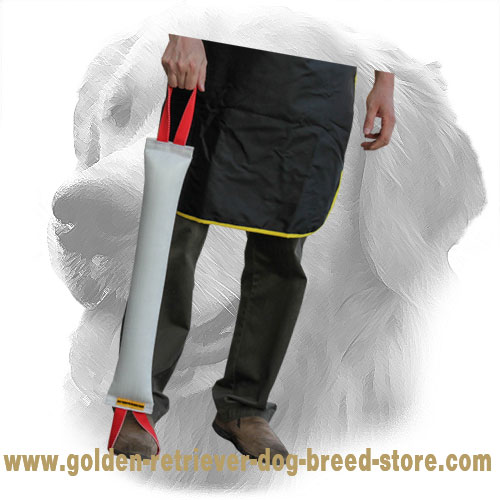 Fire Hose Golden Retriever Bite Tug for Bite Work