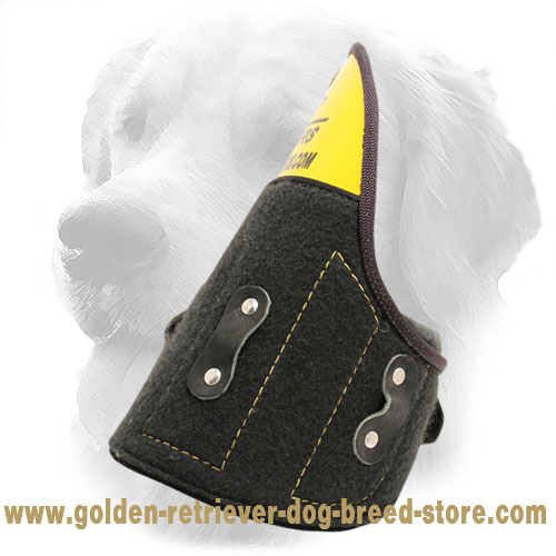 Removable Shoulder Protector for Golden Retriever Bite Sleeves