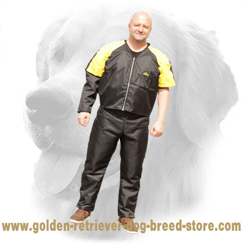 Ultra Lightweight Scratch Jacket for Golden Retriever Training