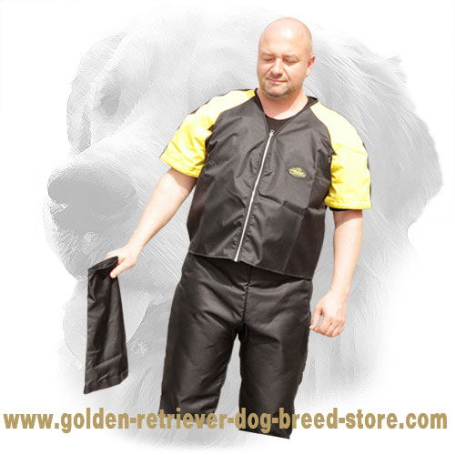 Nylon Scratch Suit with Removable Sleeves