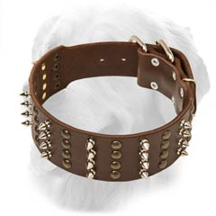 Golden Retriever Original Leather Collar