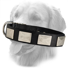 Original Design Nylon Collar with Vintage Plates