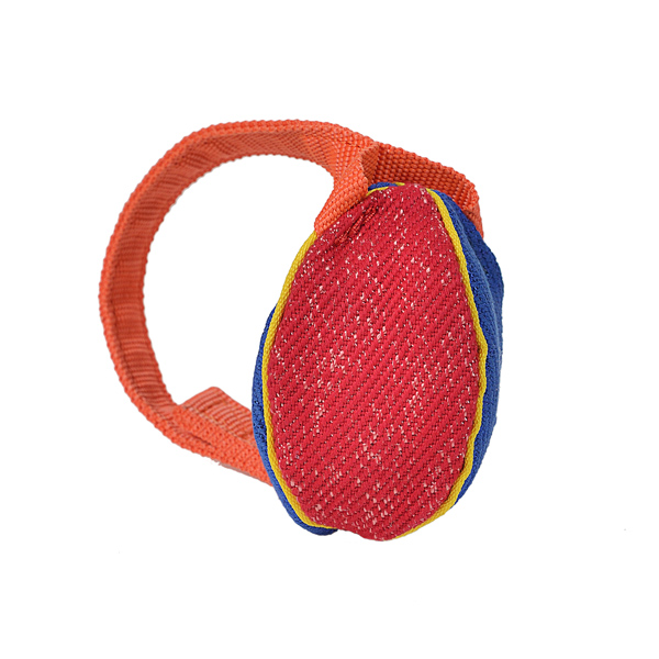 Colorful Design XS French Linen Bite Tug for Playing