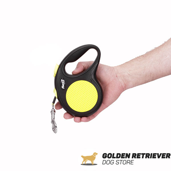 Walking Neon Design Retractable Leash for Total Safety
