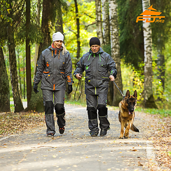 Any Weather Durable Dog Training Suit for Men and Women