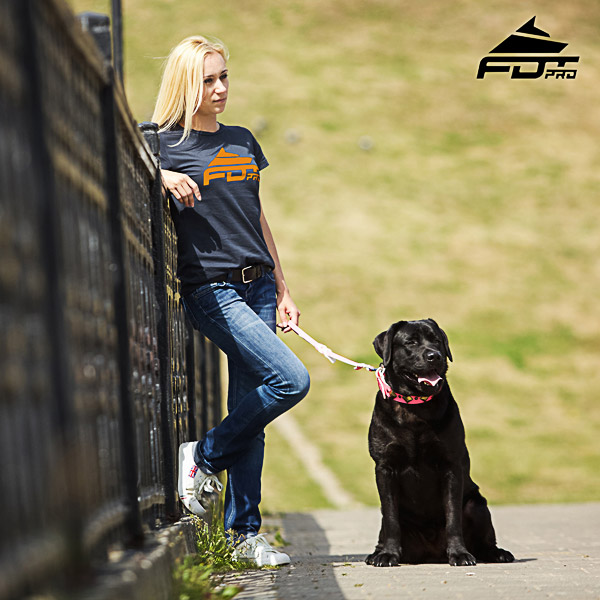 Women T-shirt of Strong Cotton for Dog Training