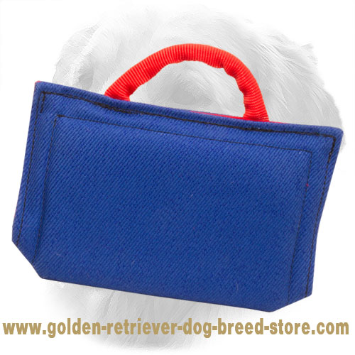 Basic Introduction French Linen Golden Retriever Bite Sleeve for Puppies