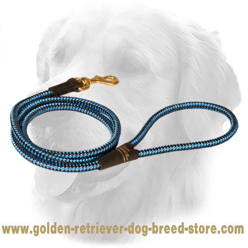 Golden Retriever Nylon Cord Leash 10 mm