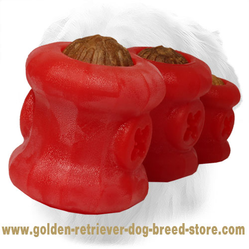 Everlasting Large Golden Retriever Fire Plug Dog Toy