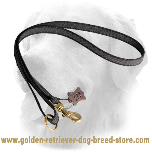 Golden Retriever Leash with Solid Snap Hook