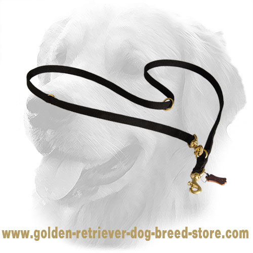 Golden Retriever Nylon Leash Multifunctional