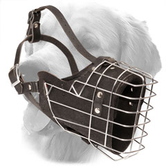 Leather Muzzle with New Ergonomic Design